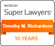 Timothy Super Lawyers 10 Year