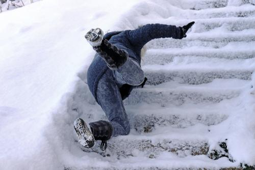Cook County slip and fall injury attorney snow and ice